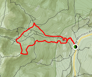 Tuckerman and Huntington Ravine Trails to Boott Spur Trail Map