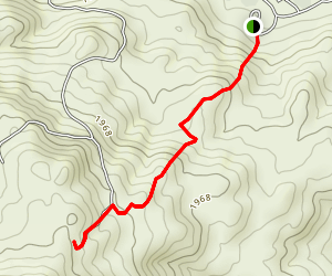 Eagles Crest Trail [PRIVATE PROPERTY] Map