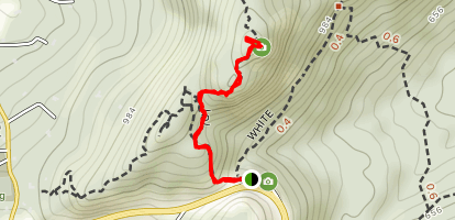 Butter Hill via Orange and Yellow Trail Map