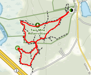 Two Mile Farm and Jose C. Carriero Loop Map