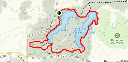 Fisherman's, West Pond, East Pond and Eagle Trail Loop Map