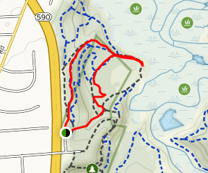 Tryon Nature Trail Map