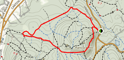 Chestnut Run Path Loop Map