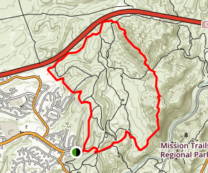 South Fortuna and North Fortuna Loop Map