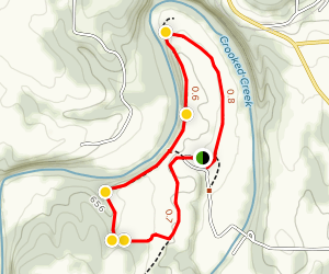 Creek Bluff Trail Map