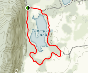 Thompson Pond Trail Map