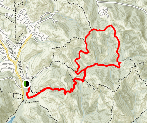 Carr Ranch Loop Trail  Map