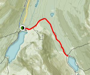 Consolation Lakes Trail Map