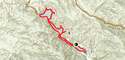 Lake Del Valle Paddle Map