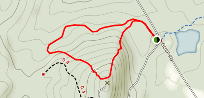 Shenipsit State Forest Loop Map