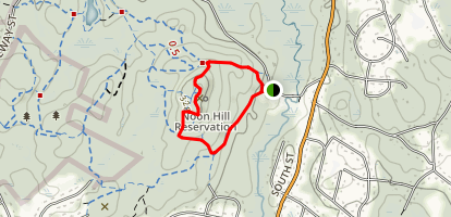 Noon Hill Loop Map