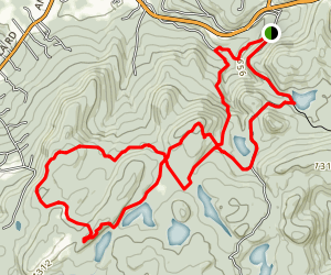 Black Rock Forest Trail Map