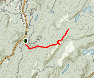 Old Mineral Springs Trail Map
