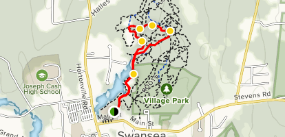 Lakeside Trail to Rusty Car Loop Map