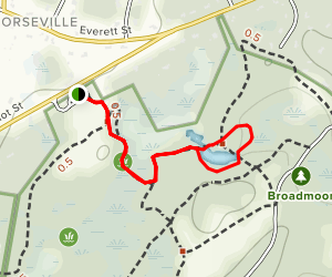 Broadmoor Loop Map