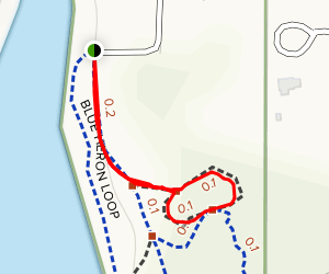 Russell Mill Pump Track Map