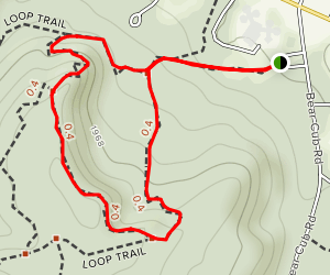 Plateau, Switchback and Loop Trail Map