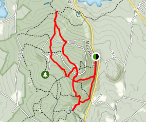 Wachusett Mountain Loop Map
