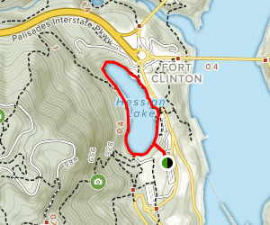 Hessian Lake Loop Map