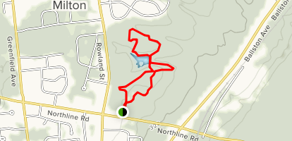 Woods Hollow Nature Preserve Trail  Map