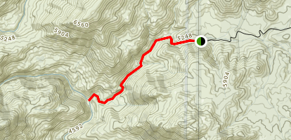 Long Valley Trail Map