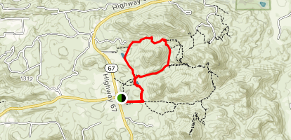 Wild Horse Trail Loop Map