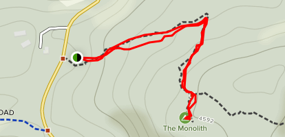 The Monolith Track Map