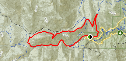 Mount Buckhorn Trail to Seven Bridges Trail Loop Map