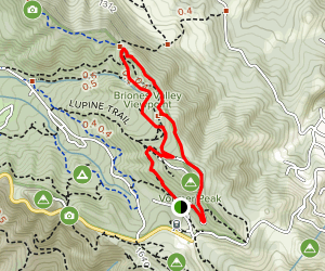 Seaview Trail to Arroyo Trail Loop Map