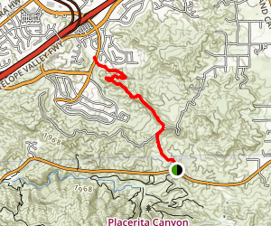 Nadeau and Mitchell Trails Map
