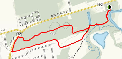 Rippon Tract & Pine River Recreational Trail Map