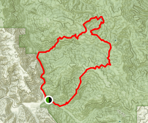 Middle Steer Trail to Wilson Peak and Serpentine Trail to Kelly Lake, and Dexter and Grizzly Gulch Trails Map