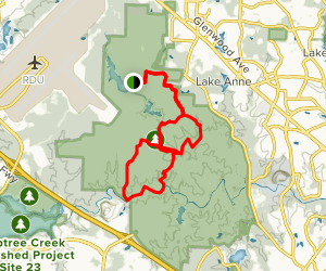 Sycamore / Company Mill Combined Loop Map