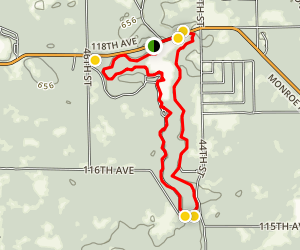 South Swan Creek Loop Trail Map
