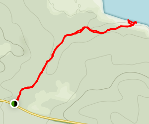 Rock Lake Trail Map