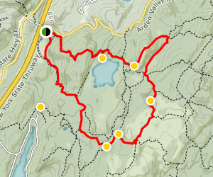Elk Pen Loop Trail Map