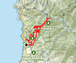 McNee Ranch to Planet of the Apes Map