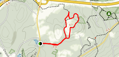 Herman Orchard Trails Map