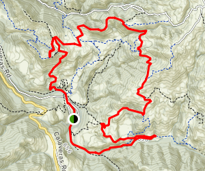 Grand Sunol Loop Map