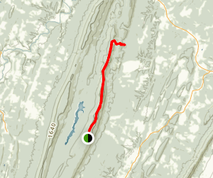 Third Hill Mountain Trail Map