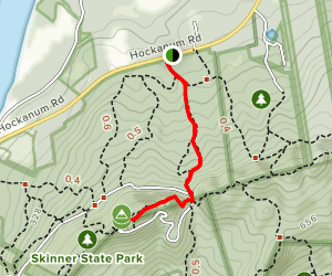 Summit House via Taylor's Notch Trail Map