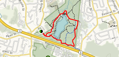 Ranger and Meadow Loop Trail Map