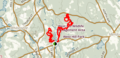 Goat Hill, Rice City and West Hill Map