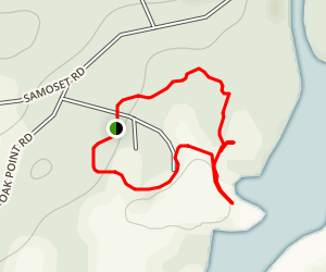 Story Trail to Hogdon Cove Map