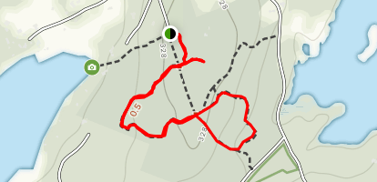 Sarah Doublet Forest Loop Map