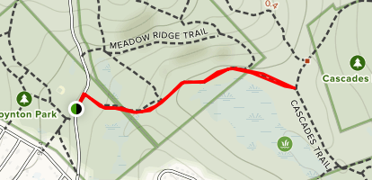 Silver Spring Trail Map