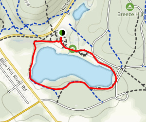 Houghton's Pond Recreation Area Map