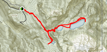 Anderson and Watson Lakes Trail Map