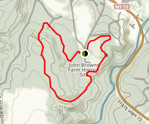 Potato Field and Maple Grove Trail Loop Map