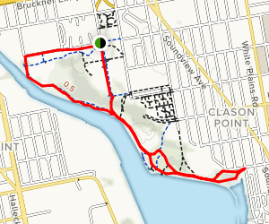 Sound View Park Greenway Map